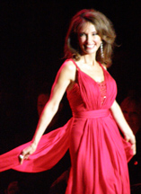 Susan Lucci at Heart Truth's Show