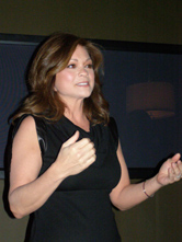 Valerie Bertinelli at Mercedes-Benz Fashion Week New York February 2009