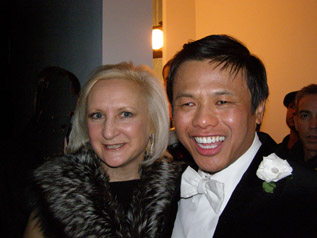 Debra C. Argen and Zang Toi - Photo by Luxury Experience