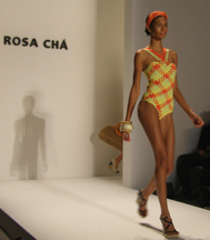 Designs by Alexandre Herchcovitch of Rosa Cha