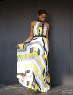 Spring 2013 collection byDesigner Pamella Roland - Photo by Luxury Experience
