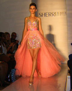 Sherri Hill Spring 2013 Designs  - photo by Luxury Experience
