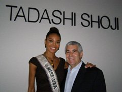 Miss USA and Edward F. Nesta