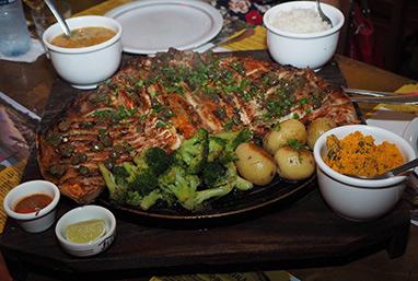 Pacu en Brasa - Juanita Restaurante, Bonito, Mato Grosso do Sul - photo by Luxury Experinece