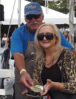Jeffery Gardner, Debra C. Argen - Watch Hill Oysters - USA Today Network Wine and Food - photo by Luxury Experience