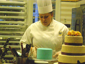 Chef Training in Pastry area at The Culinary Institute of America in Hyde Park, New York