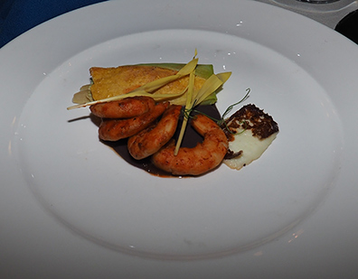 Adobo Braised Shrimp - The Culinary Institute of America - photo by Luxury Experience