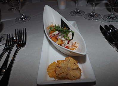 Ceviche - The Culinary Institute of America - photo by Luxury Experience