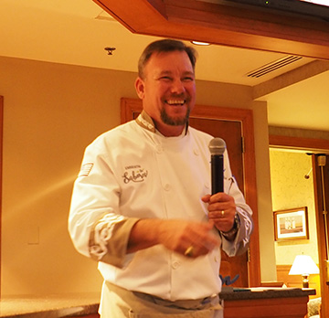 Chef Angel Garcia - The Culinary Institute of America - photo by Luxury Experience