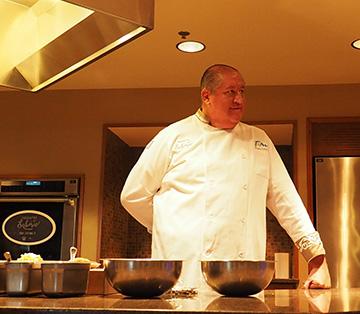 Chef Hugo Urtaza Alvarez - The Culinary Institute of America - photo by Luxury Experience