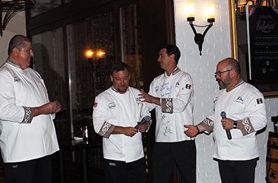 Hugo Urtaza Alvarez, Angel Garcia, Brian Kaywork, - The Culinary Institute of America - photo by Luxury Experience