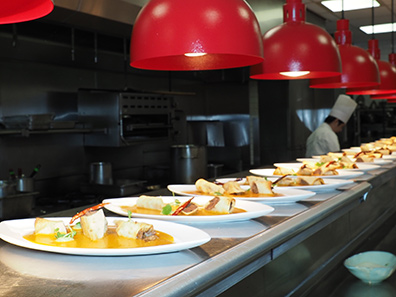 Amreican Bounty Restaurant - The Culinary Institute of America - photo by Luxury Experience