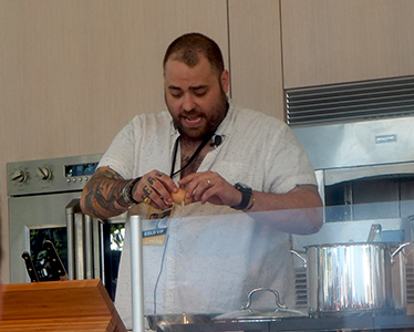 Chef Christian Petroni - photo by Luxury Experience