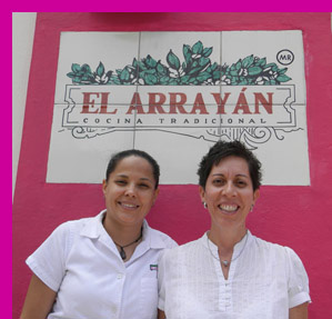 Carmen and Claudia at El Arrayan, Puerto Vallarta, Mexico - photo by Luxury Experience