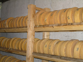 Emmentaler Cheese - Switzerland - Stokikase Cellar