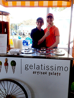 Gelatissimo - Greenwich WINE + FOOD 2019 - Photo by Luxury Experience