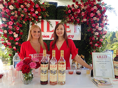 Lillet Girls - Greenwich WINE + FOOD 2019 - Photo by Luxury Experience