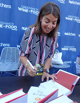 Mary Giuliani - Greenwich WINE + FOOD 2019 - Photo by Luxury Experience