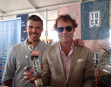 Tuck Gin - Greenwich WINE + FOOD 2019 - Photo by Luxury Experience