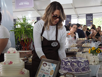 By The Way Bakery - Greenwich WINE FOOD 2018 - photo by Luxury Experience