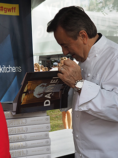 Daniel Boulud - Greenwich WINE FOOD 2018 - photo by Luxury Experience