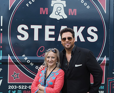 Scott Conant, Debra C. Argen - Greenwich WINE FOOD 2018 - photo by Luxury Experience