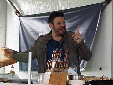 Adam Richman - Grfeenwich WINE FOOD Festival 2018 - photo by Luxury Experience