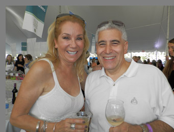 Kathy Lee Gifford and Edward Nesta- Greenwich Food + Wine Festival - photo by Luxury Experience