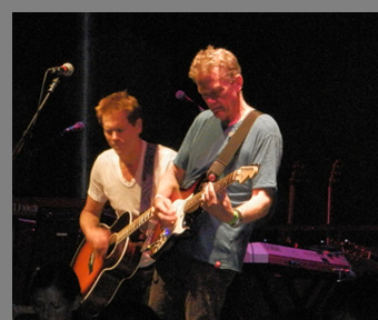 The Bacon Brothers Performing at - Greenwich Food + Wine Festival - photo by Luxury Experience