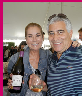 Kathie Lee Gifford, Edward F. Nesta - Photo by Luxury Experience