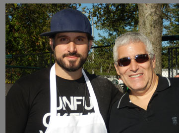 Chef David Di Bati, Edward F. Nesta - - Greenwich WIne Food Festiaval - Photo by Luxury Experience