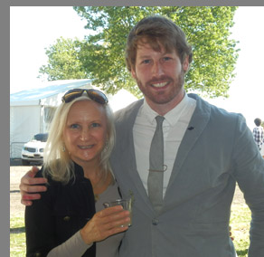 Patrick Martin, Debra C. Argen - Greenwich WIne Food Festiaval - Photo by Luxury Experience