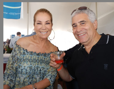 Kathy Lee Gifford, Edward F. Nesta - Greenwich WIne Food Festiaval - Photo by Luxury Experience