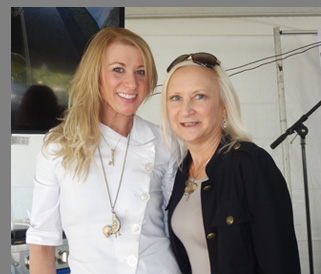 Samantha Mittler - The Dessertist, Debra C. Argen -- Greenwich WIne Food Festiaval - Photo by Luxury Experience