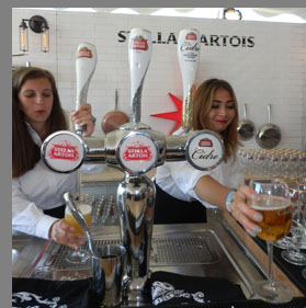 Stella Artois - Greenwich WIne Food Festiaval - Photo by Luxury Experience