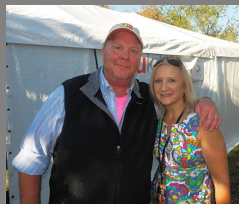 Mario Batali, Debra C. Argen - Greenwich WINE Food - photo by Luxury Experience