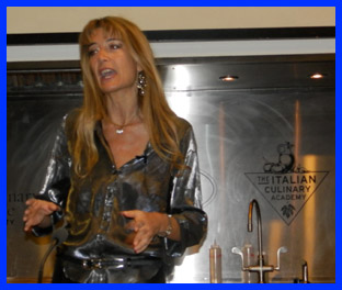 Alessandra Rotondi at The International Culinary Center - photo by Luxury Experience