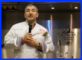 Chef Cesare Casella of The International Culinary Center - photo by Luxury Experience