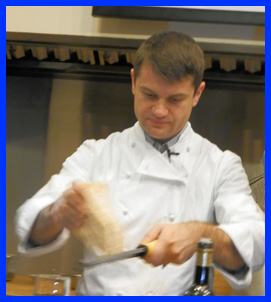 Chef Enrico Bartolini at The International Culinary Center - photo by Luxury Experience