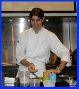 Chef Matteo Bergamini at The International Culinary Center - photo by Luxury Experience