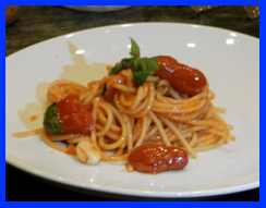 Chef Matteo Bergamini Spaghetti al Pomodoro - photo by Luxury Experience
