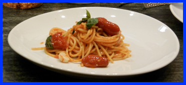 Spaghetti al Pomodoro by Chef Matteo Bergamini at The International Culinary Center - photo by Luxury Experience