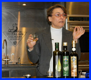 Lidia Rinaldi at The International Culinary Center - photo by Luxury Experience