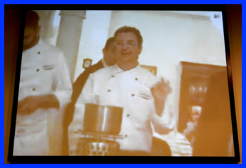 Live video feed from Naples, Italy at The International Culinary Center - photo by Luxury Experience