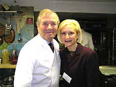 Jacques Pepin and Debra