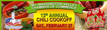 Mt. Washington Valley Chili Cook Off - NH, USA