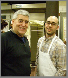 Baker Peter Endriss and Edward F. Nesta - Photo by Luxury Experience