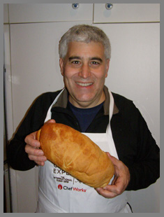 Loaf of warm bread - Edward F. Nesta - Photo by Luxury Experience