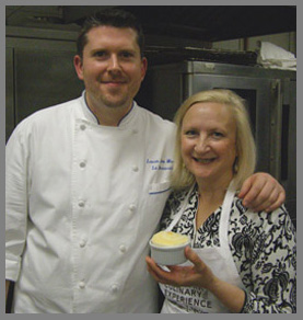 Chef Laurie Jon Moran and Debra Argen - photo by Luxury Experience