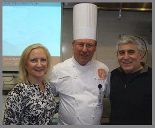 Chef Alain De Coster, Debra Argen, Edward Nesta - Photo by Luxury Experience